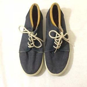 Reef Boat Shoes Navy Blue Lace Up 12